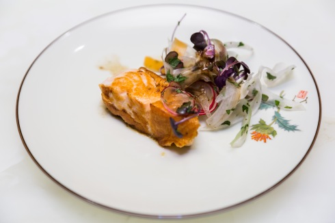 Grilovaný losos so zazvorovou omackou (1)
